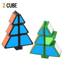 A legújabb ZCUBE 1x2x3 Karácsonyfa alakú Magic Cube Sticker Speed Puzzle Oktató játékok Xmas Ajándék gyerekeknek -35