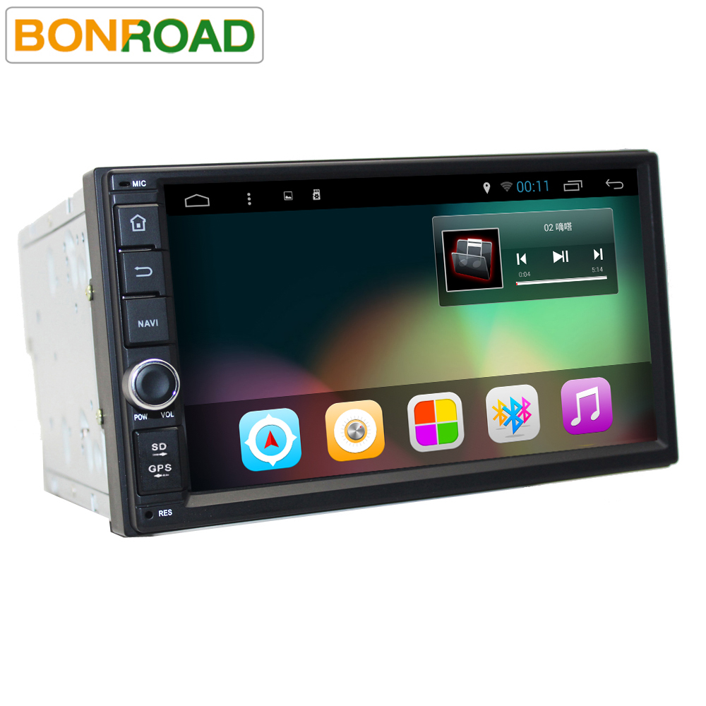 buy bonroad 2din 7 39 39 android 6 0 car player radio gps universal without dvd car. Black Bedroom Furniture Sets. Home Design Ideas