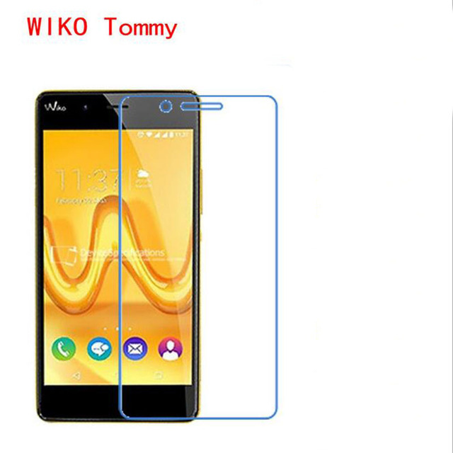 ZLYLXL Soft Explosion proof touch Screen Protector phone film For Wiko Tommy  (Not Tempered Glass) + wipes