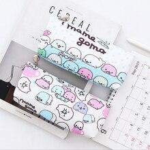 купить 1X Cartoon creatures PU Pencil Case Storage Organizer pen bag Pouch Pencil Bag School Storage bag Supply Stationery по цене 128.76 рублей