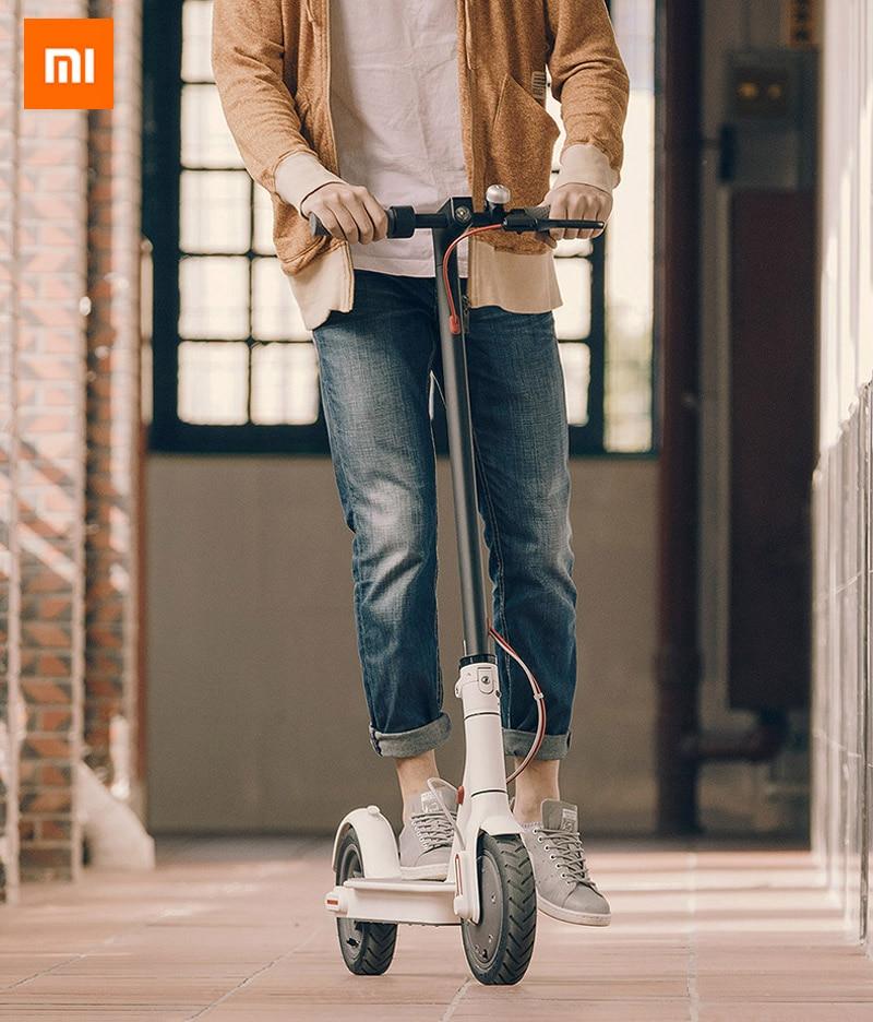 Prix pour D'origine UL2272 xiaomi M365 scooter 12.5 kg volant 2 deux roues hoverboard électrique planche à roulettes patins à roulettes oxboard