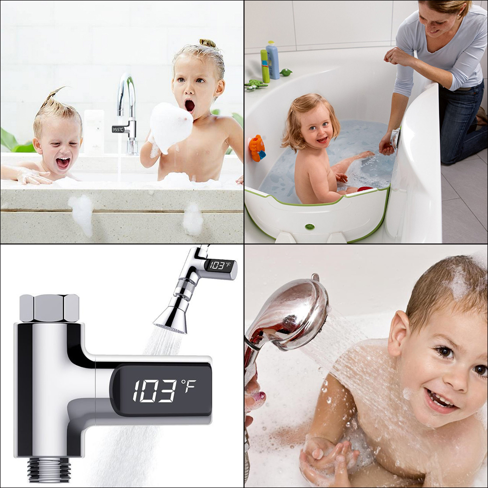 LED Digital Infant Bath Water Temperature Home Thermometer Baby Care Shower Water Temperature Monitor Baby Bath Safety Care