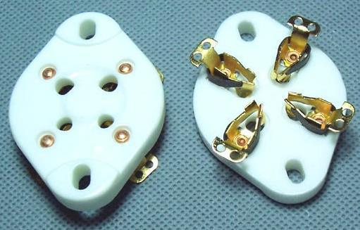 Electronic Components & Supplies Free Shipping Sensors 300b 2a3 For Large Four-leg Flat Gold-plated Tube Socket