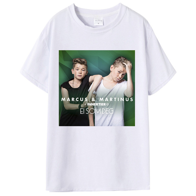 Marcus And Martinus T Shirts Men Kids 2018 Casual Soft Ultra Elastic Breathable Short Sleeve Mens Tshirts