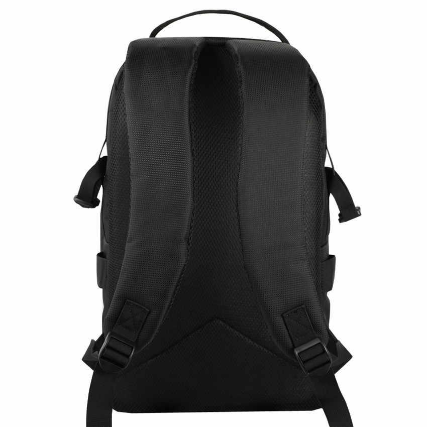 Водонепроницаемый ударопрочный рюкзак для камеры DSLR, чехол для штатива с отражателем в полоску, подходит для ноутбука 15,6 дюйма, сумка для Canon Nikon sony