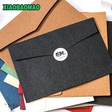 Espessura 230*163mm 20 pçs/lote cor ocidental, estilo a5 contas vazias receber envelope janela envelope