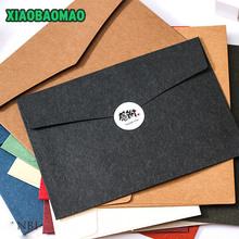 Thickness 230 * 163mm 20pcs / lot Color Western style A5 blank bills receive envelope window envelope