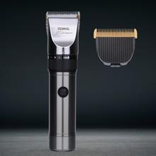 RIWA Тихая машинка для стрижки волос профессиональная машинка для стрижки волос триммеры литиевая батарея титановое керамическое лезвие парикмахер X9 34