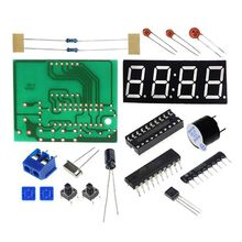 Digital Clock DIY Kit Compact 4-digit DIY LED Electronic Production