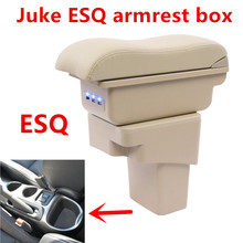 For Nissan Juke armrest box central Store content box cup holder ashtray font b interior b
