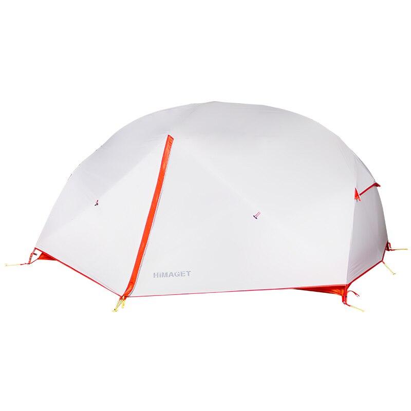 HIMAGET нейлоновая палатка на открытом воздухе Анти-проливной дождь палатки водостойкая походная палатка двойной человек палатки алюминиевый...