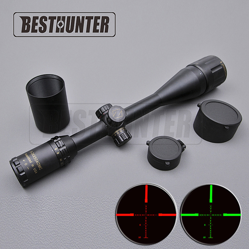 ZEISS CONQUEST 6-24X50 Golden Letter Marking Optical Rifle Sight Tactical Gear Sniper Rifle Green And Red Fiber Sight Hunting бинокль carl zeiss 8x32 hd conquest