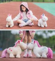 Theodor arkadaşı Candice guo NICI peluş oyuncak bebek dolması melek Unicorn karikatür hayvan bebek doğum günü hediyesi çocuk christmas present 1 adet