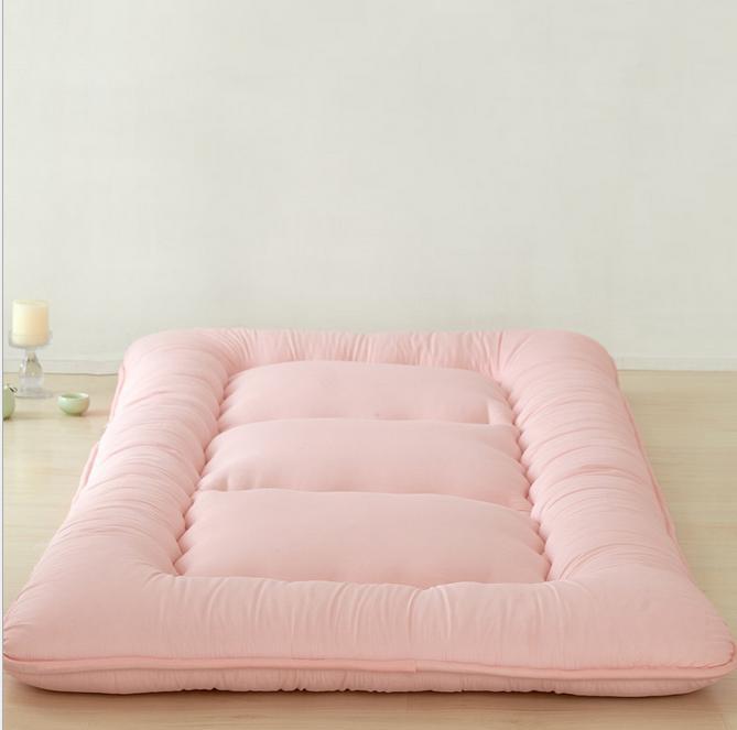 Kids Sleeping Mat Single Double Memory Foam Mattress Folding For Twin Queen Bed