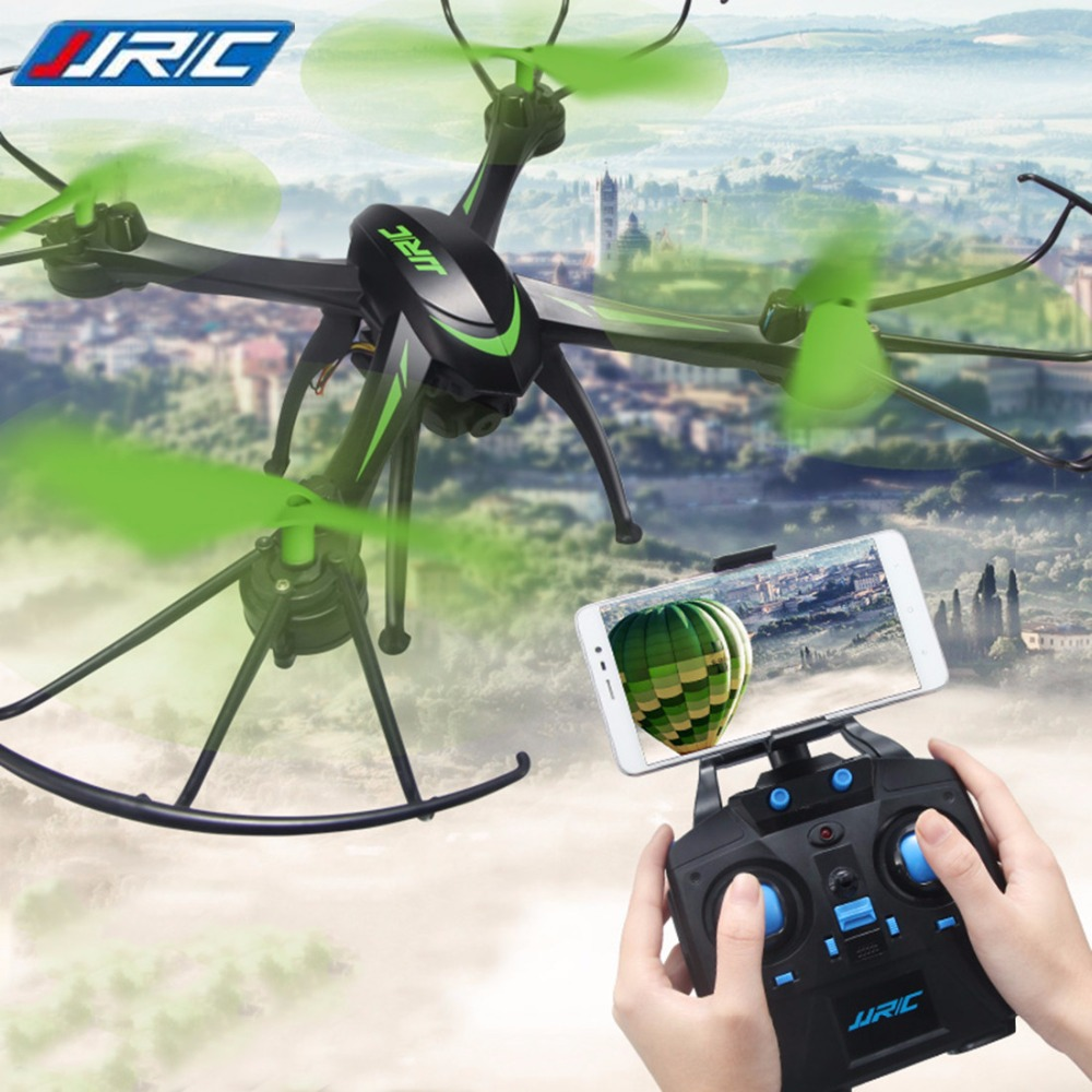 JJRC H98WH Wifi FPV With 0.3MP Camera Headless Mode Air Press Altitude Hold RC Quadcopter RTF 2.4GHz Best Toys For Children радиоуправляемые вертолеты wl toys q222k wifi fpv rtf