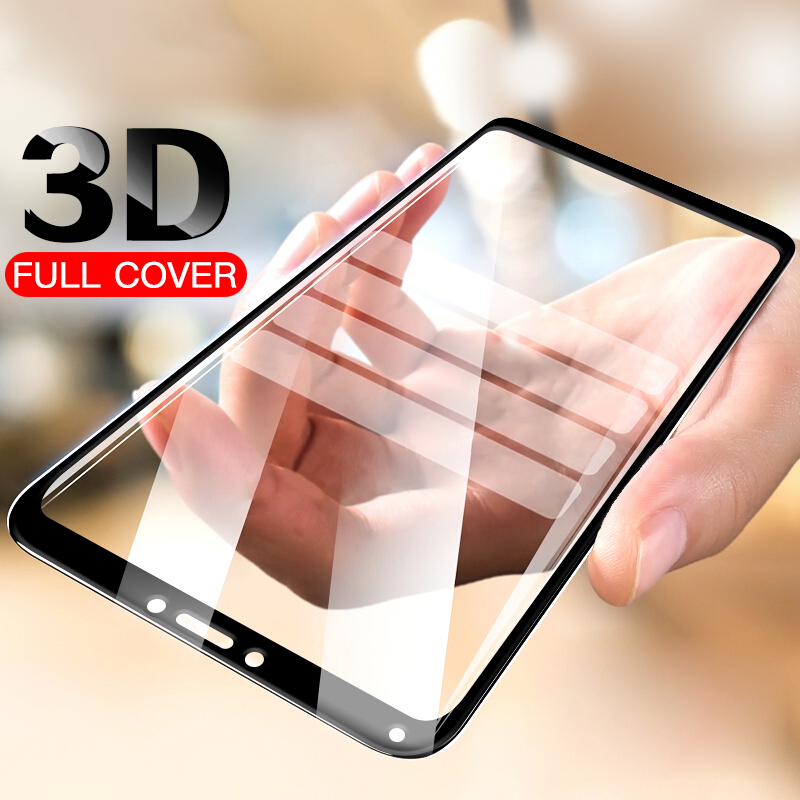 3D Tempered Glass For Xiaomi Redmi 6A 5 Plus 5A S2 Protective Glass For Xiaomi Xaomi Xiomi Redmi Note 7 5 6 Pro Screen Protector(China)
