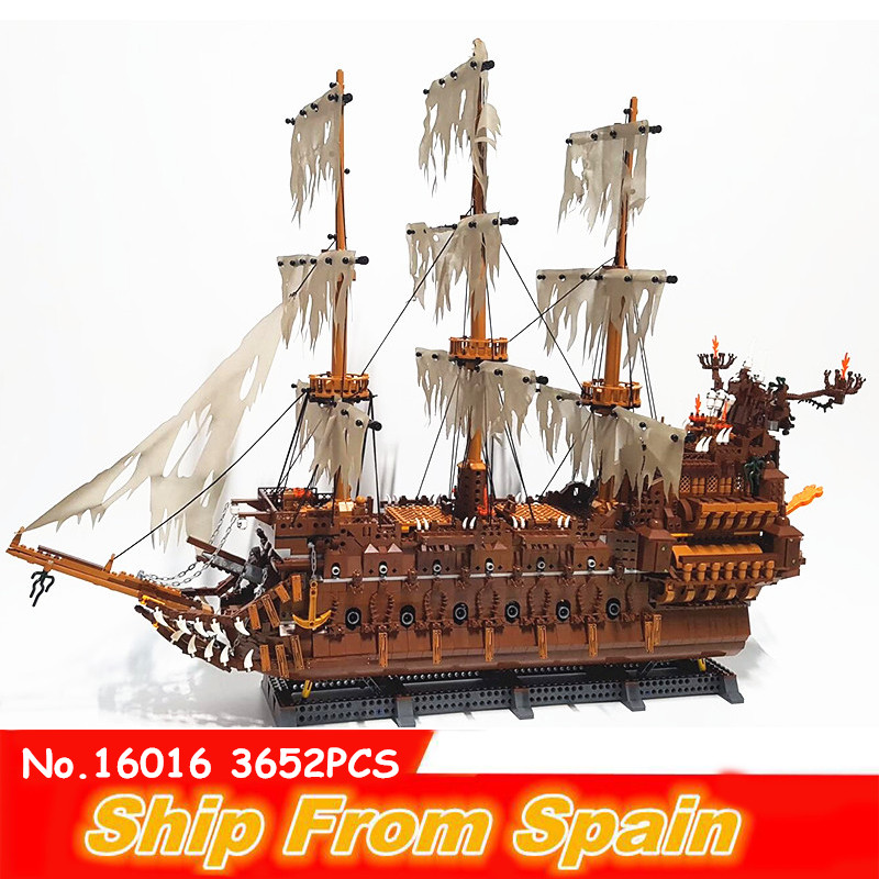 16016 05047the starwars Flying Netherlands ship Movies Series Blocks model Designer creative toys ship from spain