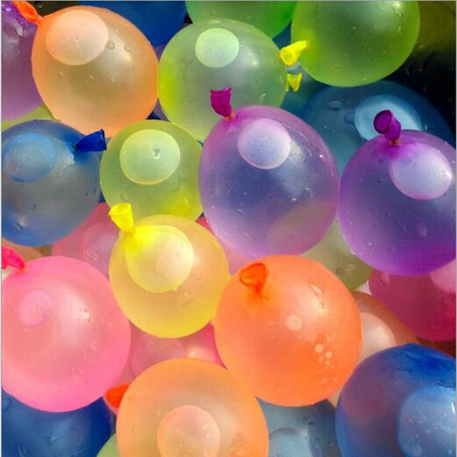 Aliexpress com : Buy 111pcs/3bunch Water Balloon Magic Water Filled Balloon  Fight Kick Summer Toys for Kids Water War Bombs Party Accessories Decor