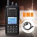 D900 Zastone Rádio Em Dois Sentidos VHF 136-174 Mhz ZT-D900 DMR Rádio Digital 1000 Canais Walkie Talkie