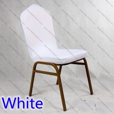 לבן צבע לייקרה כיסוי הכיסוי העליון - טקסטיל בית