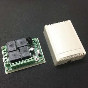 Image 5 - 433 Mhz العالمي لاسلكي للتحكم عن بعد التبديل تيار مستمر 12 فولت 4CH وحدة الاستقبال التتابع و RF الارسال 433 Mhz التحكم عن بعد