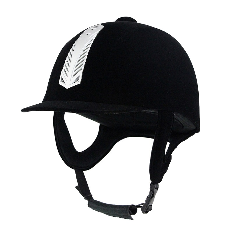 Professional Durable Equestrian Horse Riding Helmet Equestrian Helmet Safety Headguard Protective Helmet Horse Riding Cap