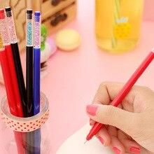 0.5 мм синий и красный цвета Цветной гелевая ручка для студента exame Школа Офис Написание Канцтовары Обувь для мальчиков подарок для девочек