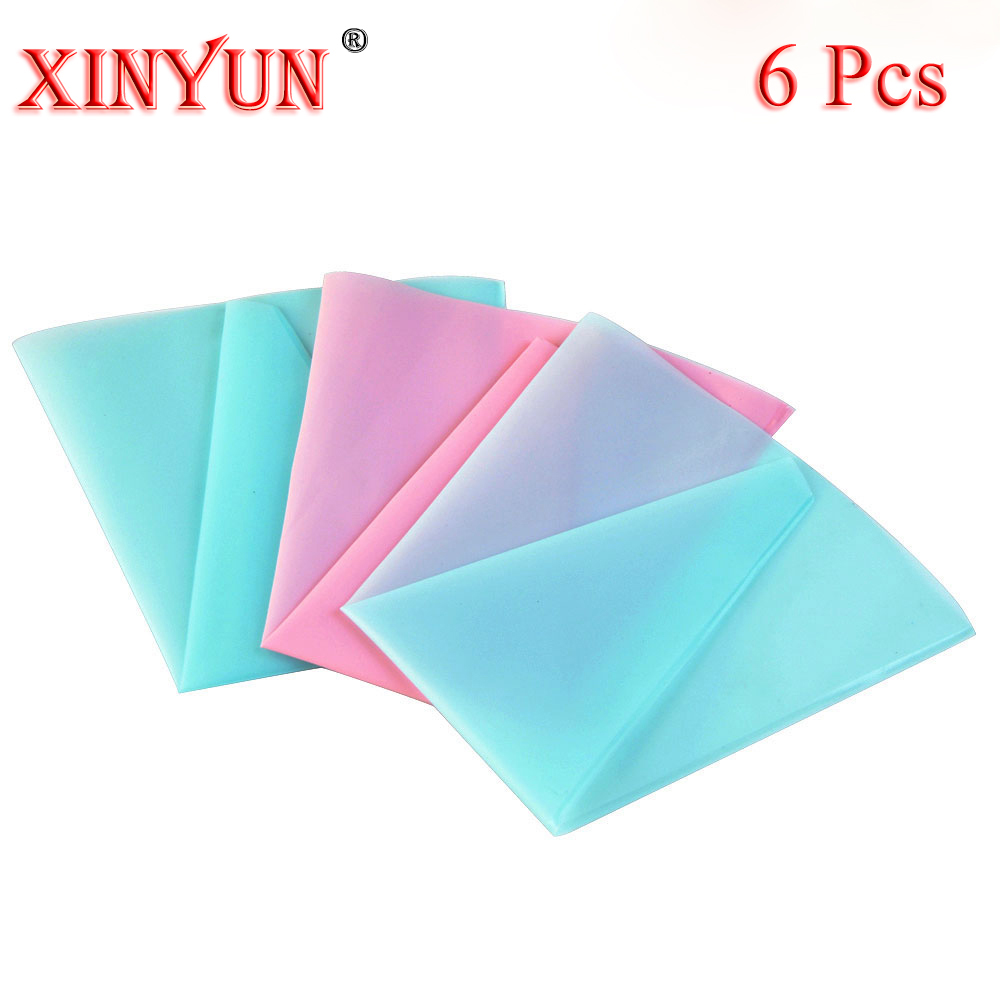 6 pcs Reusable Icing Piping Bag Cream Pastry Bag Cake Decorating Bag Tool Pencuci Mulut Alat Baking Decorating Bag