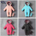 Baby Snowsuit Infant Boy Rompers Ski Jumpsuit Toddler Jumpsuit Winter Warm Thicken Snow Suit For Girls Onesie Kids Down Romper