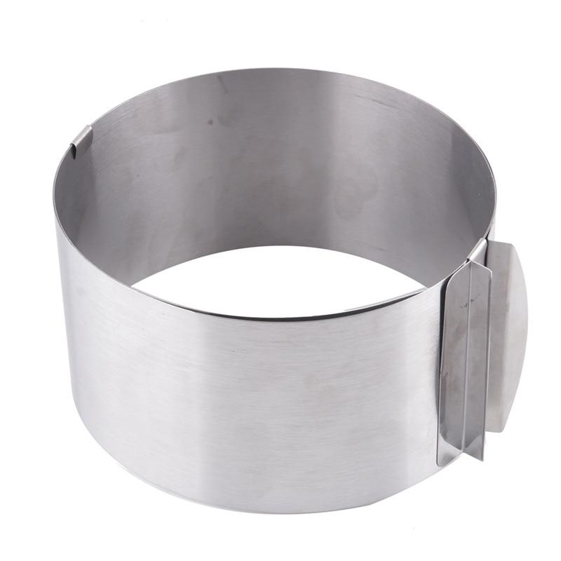 Praktische küche Silber Versenkbare Edelstahl Kreis Mousse Ring - Küche, Essen und Bar - Foto 2