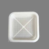 1PCS New Honey Filter Double Plastic Honey Honey Filter Multi function Filter Beekeeping Tool