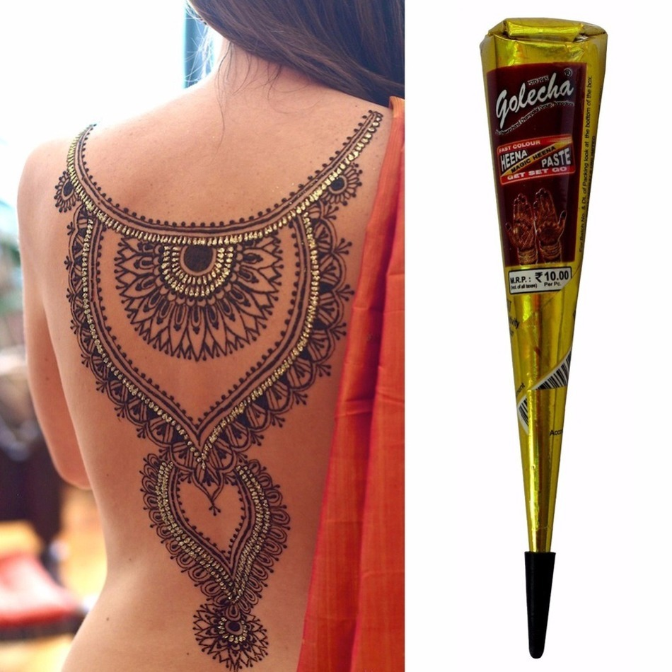 High Quality Mehndi Designs : Online buy wholesale henna tattoo ink from china