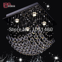 Hot Sales 100 Guaranteed Luxury Square Modern LED Crystal Chandeliers For Living Room And Dinning Room