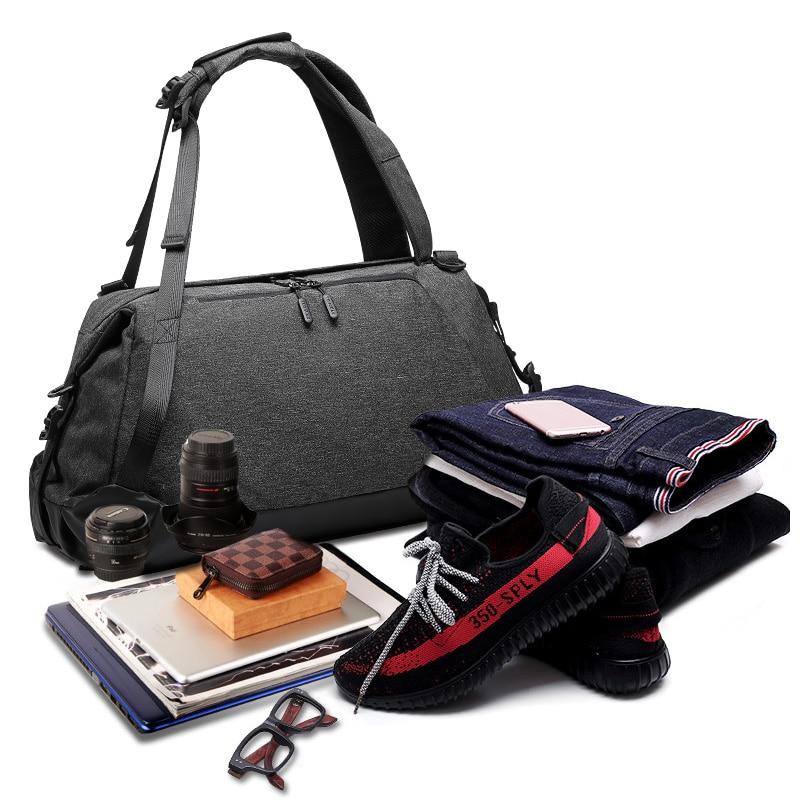 45L sac de voyage Gym sac à dos Sport sac à chaussures Yoga formation Fitness emballage en plein air ville tourisme Camping sac sec sac à main