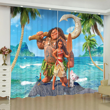 Moana Animation curtains for window Marvel Moana Batman blinds finished drapes window blackout curtains parlour room blinds nightmare curtains for window dark style butterfly batman blinds finished drapes window blackout curtains parlour room blinds