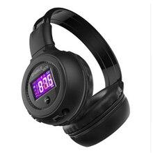 B570 Беспроводной Bluetooth наушники ЖК-дисплей Экран дисплея гарнитура Поддержка TF карты FM Радио для iphone Samsung Смартфон Xiaomi