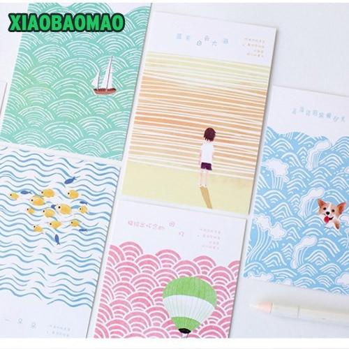 30 Pcs Pack Happy Summer Beach Greeting Card Postcard Birthday