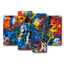 Graffiti  Watercolor Canvas Painting Calligraphy Prints Home Decoration Wall Art Poster Pictures for Living Room Bedroom