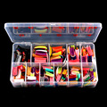 540 Pcs 27 Color French False Acrylic Gel Nail Art Tips Half with Box Salon Set