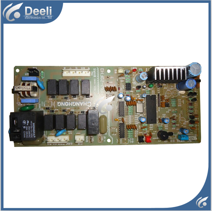 95% new good working for Changhong air conditioning motherboard Computer board POW-20FHD ju7.820.1593 good working обогреватель changhong h42 13