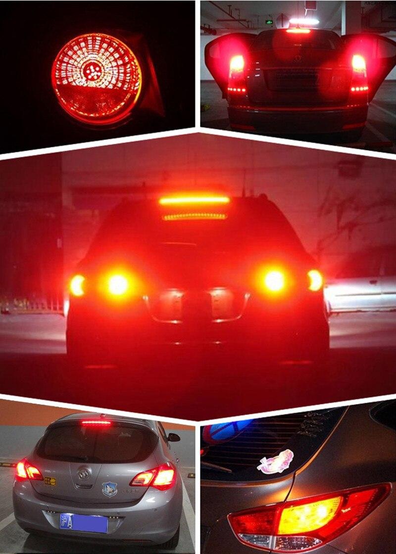 1156 P21W BA15S 7506 Super brightness 33 SMD 5630 5730 LED auto brake lights fog lamp reverse Bulb car daytime running light 12V