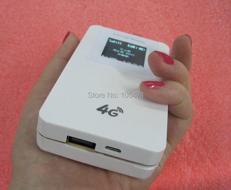 Usine en gros: routeur Wifi 4G LTE + batterie externe avec batterie 4100 mAh déverrouillée VJ-L100A