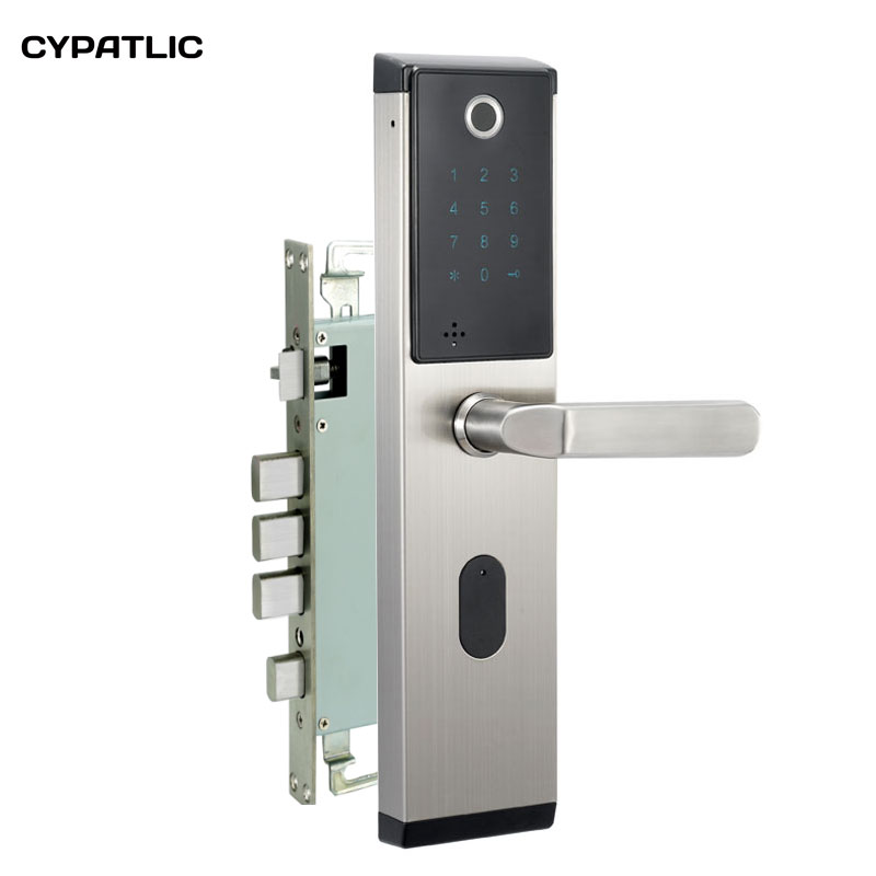 CYPATLIC Electronic Biometric Fingerprint Door Lock Keyless Digital Door Lock For Smart Home Anti-theft Intelligent Lock