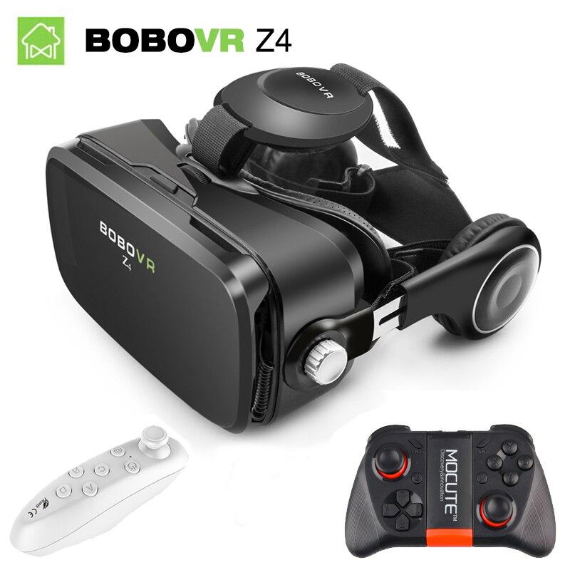 Bobovr Z4 мини VR коробка 2.0 3D VR Очки виртуальной реальности Gafas очки Google картона оригинальный Bobo VR гарнитура для смартфонов