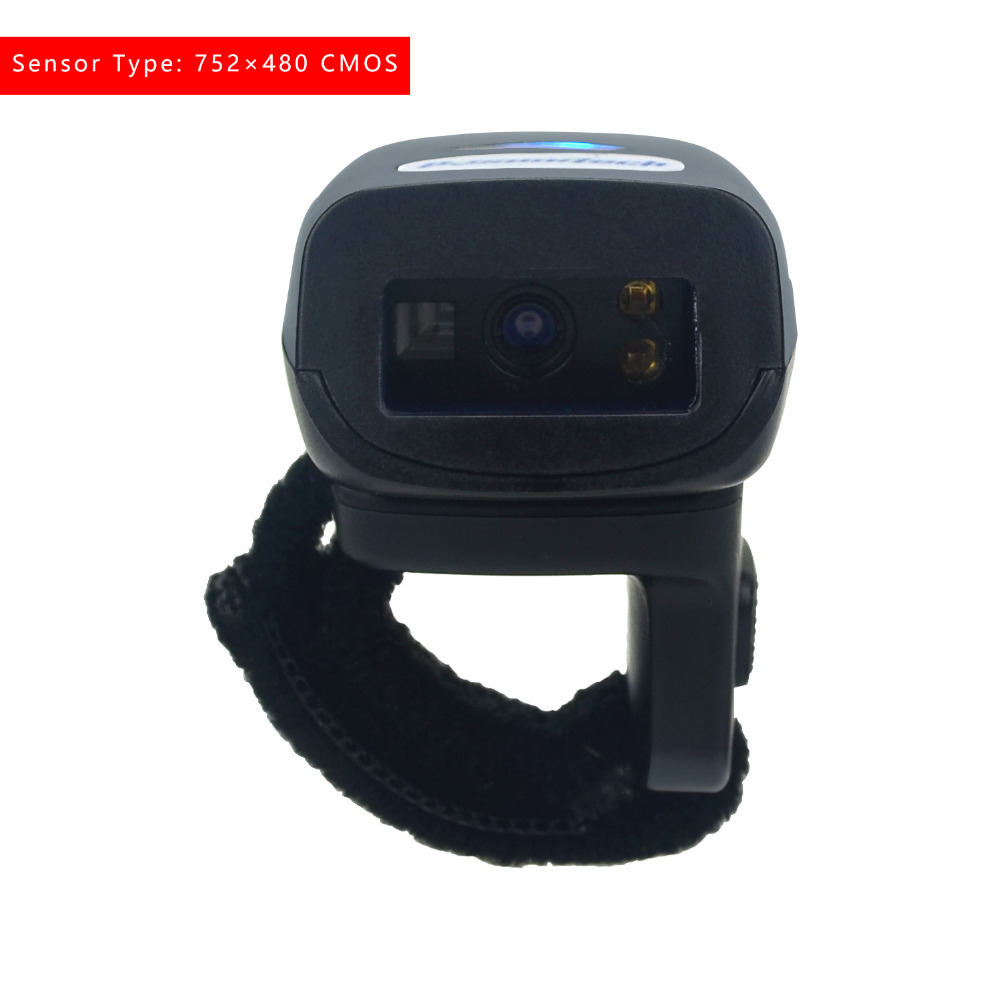 Wearable Ring FS03 2D Portable Bluetooth Barcode Scanner Li ion Battery 32bit USB For IOS Android