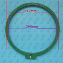 21CM Embroidery Hoop Circle Round Frame Art Craft DIY Cross Stitch #KP-C-1071-1 21CM