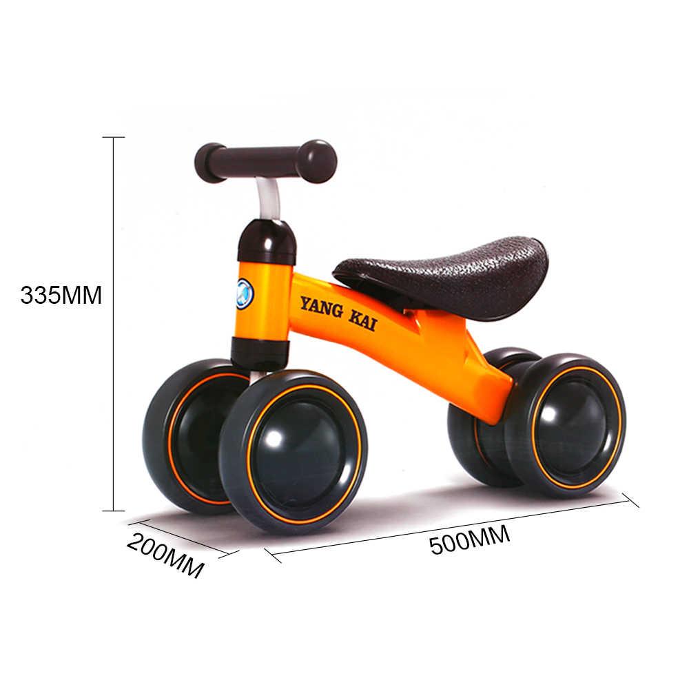 Panas Anak Keseimbangan Sepeda Skuter Baby Walker Bayi 1-3years Skuter Tidak Ada Pedal Kaki Mengemudi Sepeda Hadiah untuk Bayi Tiga Roda