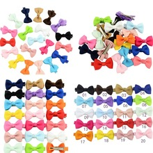 2019 NEW Baby Sale Popular Children Hair Clip Hair accessories Headwear Baby Ribbon Bow Cute Girls Hairpins hairband Wholesale(China)