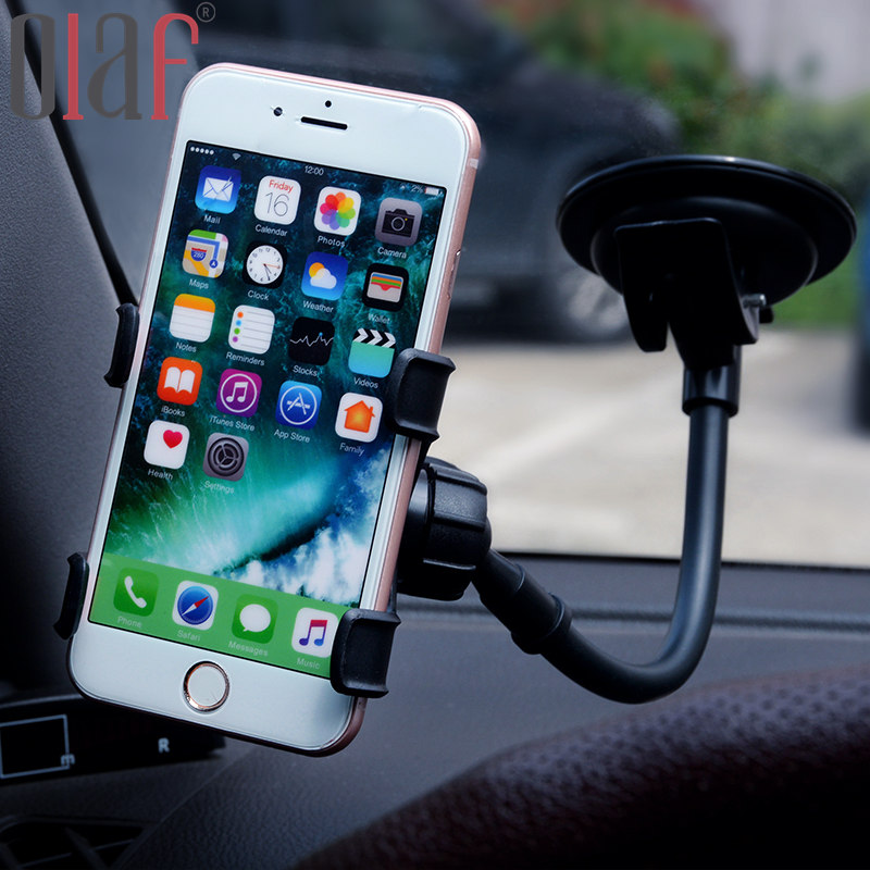 For Samsung/Iphone Universal Suction Cup Sucker Car Windshield Mount Phone Holder, Dashboard Stand Glass Sticky Bracket Stents