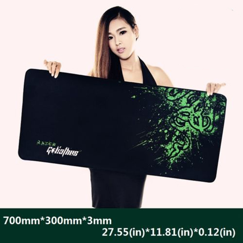 Rubber e-sports Game Speed/ Control Professional Gaming Mouse Pad Keyboard Mic Mat Large XL 600MM 700MM 800MM 900MM Dropshipping